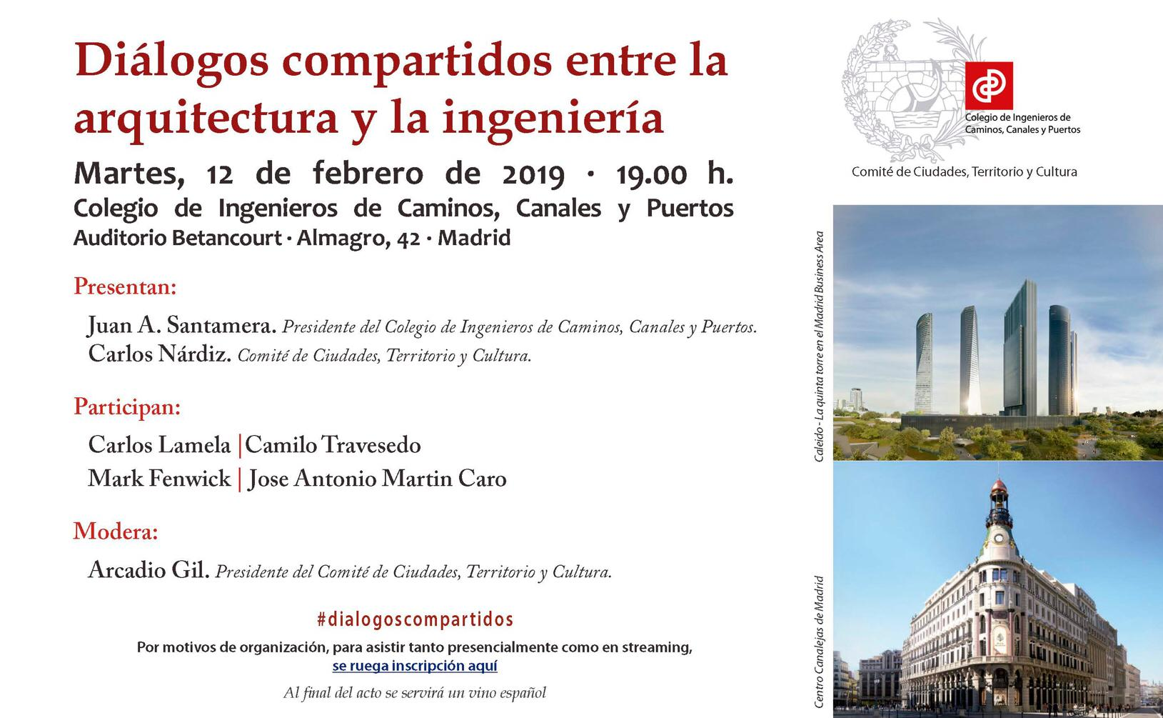 Diálogos compartidos entre la arquitectura y la ingeniería
